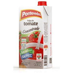 pulpa de tomate pontevedra sin sal y sin azucar