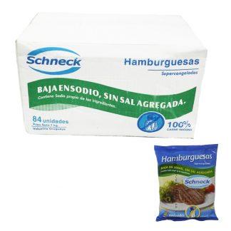 Hamburguesas Schneck Sin Sal